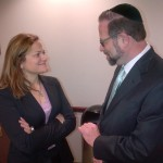 City Council Speaker Melissa Mark – Viverito with Leon Goldenberg