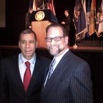 Leon with former NY Governor, David Patterson