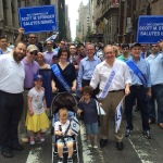 New York City Comptroller, Scott Stringer with his family and team
