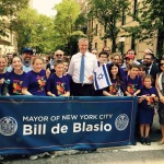The Official Banner of the Mayor of NYC