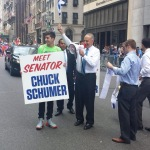 Such a creative way to come out for Israel - thanks Senator!