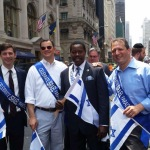 A bevy of NY polticians come out to support Israel
