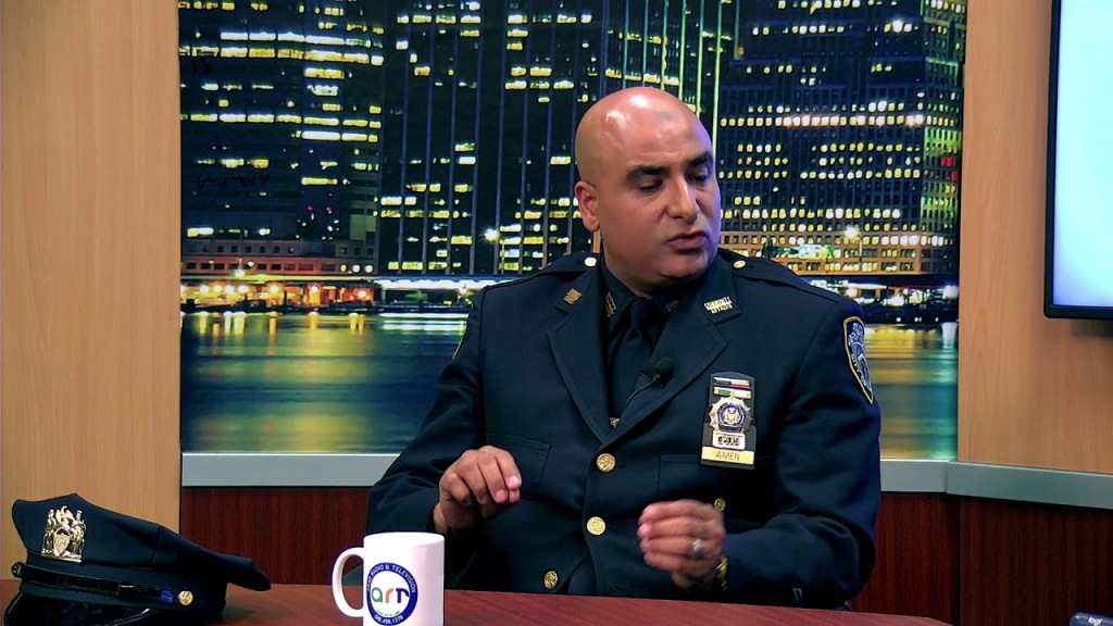 Detective Mohamed Amen is the NYPD's Arab Muslim Liaison