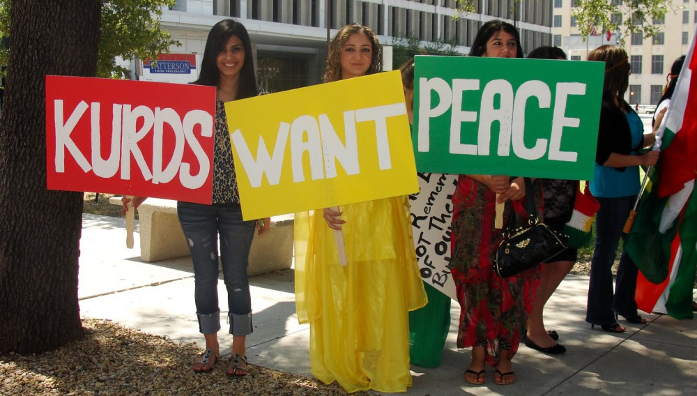 kurds want peace
