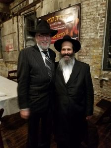 Sholom Mordechai and Gary Apfel