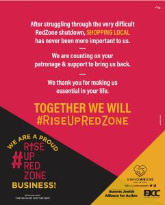 rise up red zone campaign